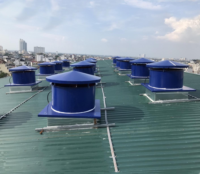Hệ thống giải nhiệt cục nóng điều hoà – Bệnh viện Việt Đức