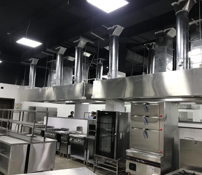 Hệ thống hút mùi bếp – Sân golf Hòa Bình