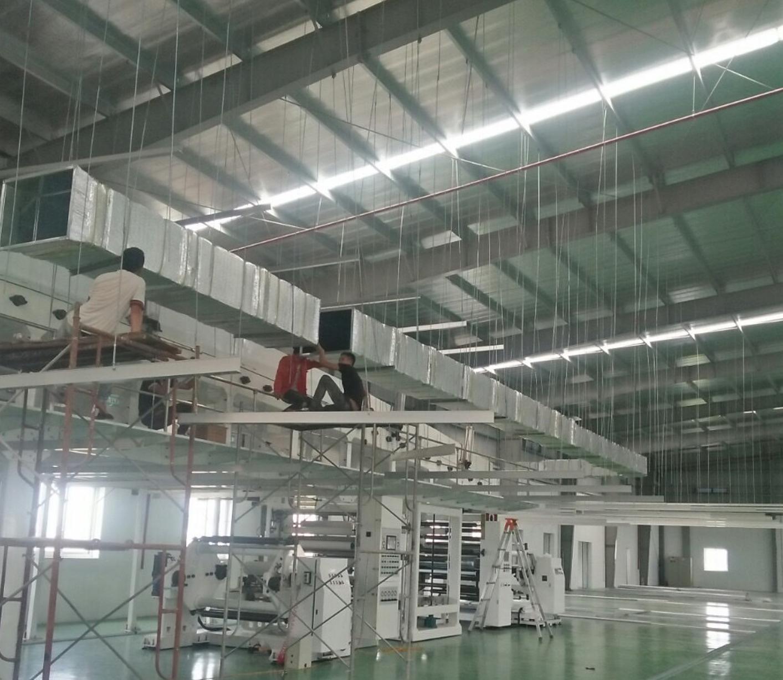 Hệ thống ống gió điều hoà trung tâm – Polytech Hàn Quốc
