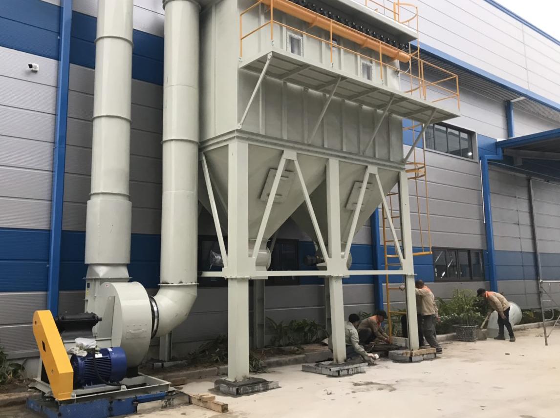 Hệ thống hút bụi – Nhà Máy Sản Xuất Tấm Vách, Trần SUNCO PANEL