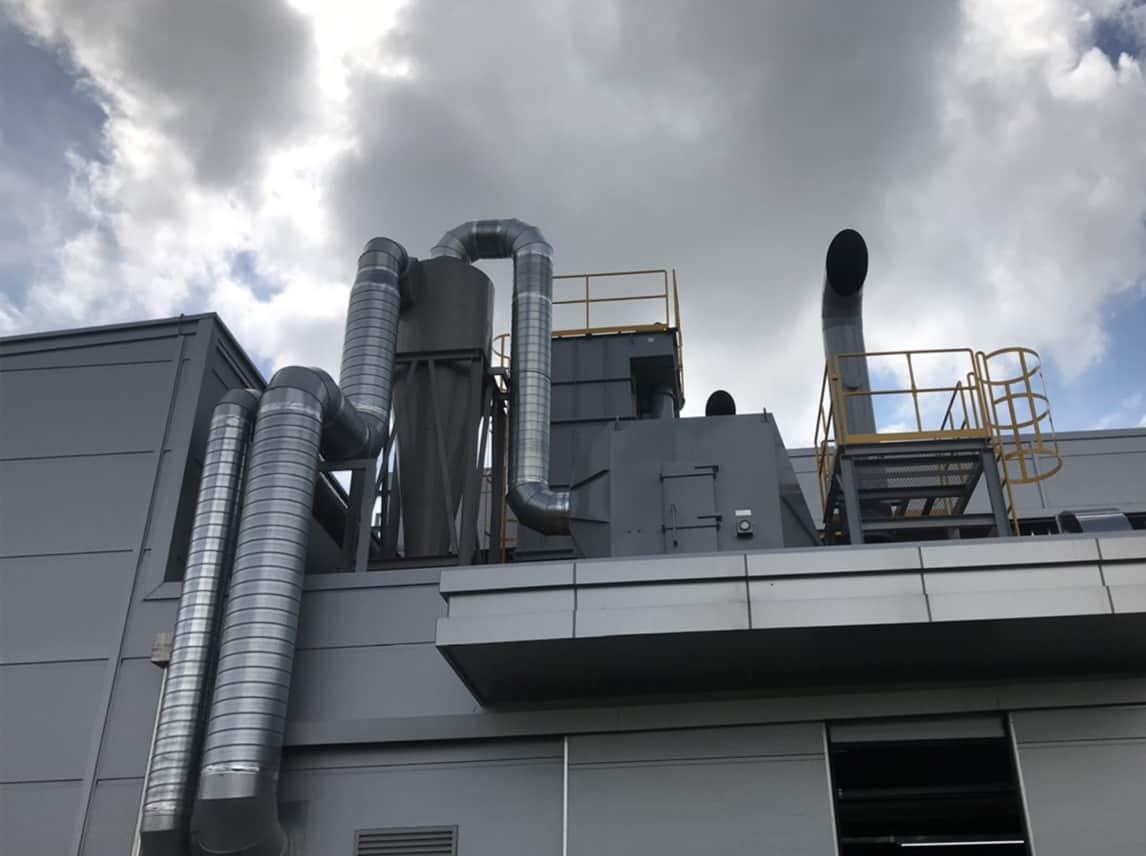Hệ thống hút lọc bụi công nghiệp là gì? Những điều cần biết về hệ thống hút lọc bụi