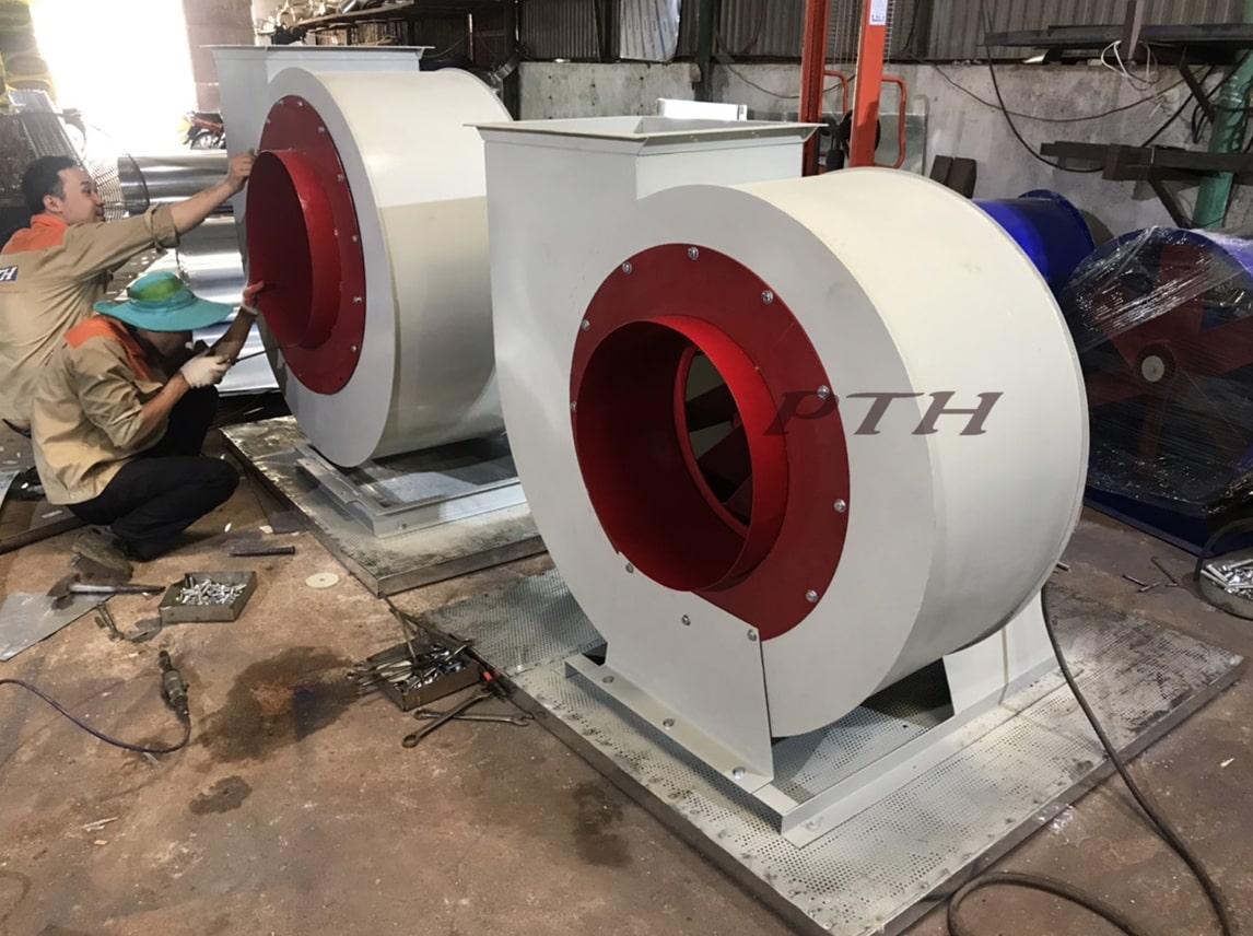 Quạt ly tâm thấp áp CFP-02-NO – Làm mát nhà xưởng
